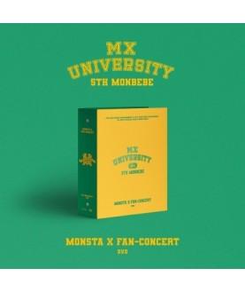 MONSTA X - MONSTA X 2021 FAN-CONCERT [MX UNIVERSITY] (DVD)