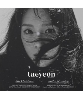 (GIRLS' GENERATION) TAEYEON -  Winter Album [This Christmas – Winter is Coming]