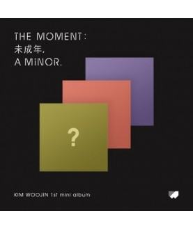 KIM WOO JIN - 1st Mini Album [The moment : 未成年, a minor. ]