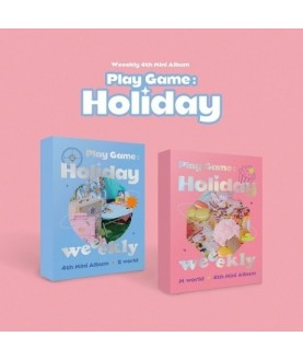 Weeekly 4th Mini Album - Play Game:Holiday
