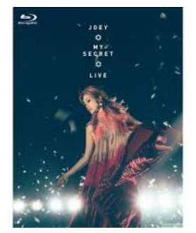 JOEY YUNG-MY SECRET LIVE (2Blu-ray+CD) Limited edition