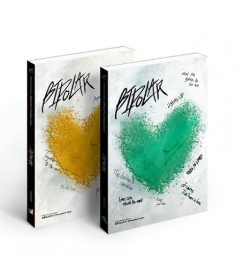 EPEX - 2nd EP Album [Bipolar Pt.2 사랑의 서] (LOVER Ver. + COMPANION Ver.)