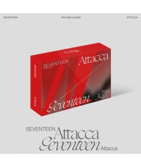 SEVENTEEN - 9th Mini Album [Attacca] KiT Album