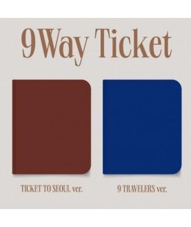 Fromis_9 2nd Single Album - 9 WAY TICKET