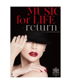 ayumi hamasaki - ayumi hamasaki MUSIC for LIFE ~return~