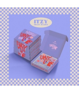 ITZY - The 1st Album [CRAZY IN LOVE](Random)
