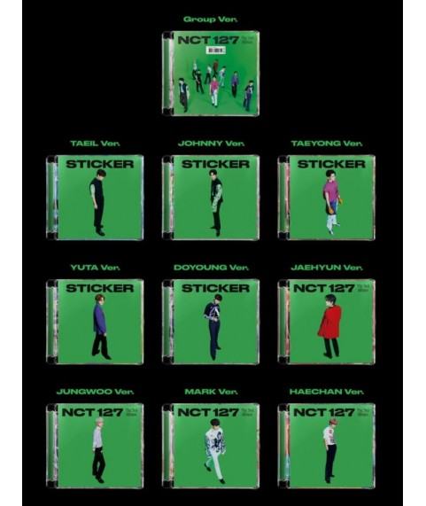 NCT 127 - The 3rd Album [Sticker] (Jewel Case Ver.) (Random)