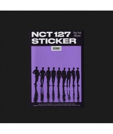 NCT 127 - The 3rd Album [Sticker] (Sticker Ver.) (Sticky Ver.) (Seoul City Ver.)