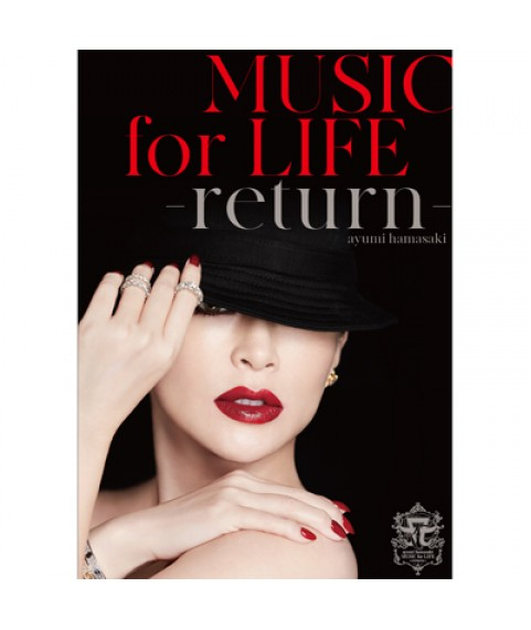 ayumi hamasaki -  MUSIC for LIFE -return-初回生產限定台壓版 (1Blu-ray)