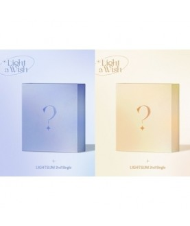 LIGHTSUM - 2nd Single [Light a Wish] (Light Ver. + Wish Ver.)