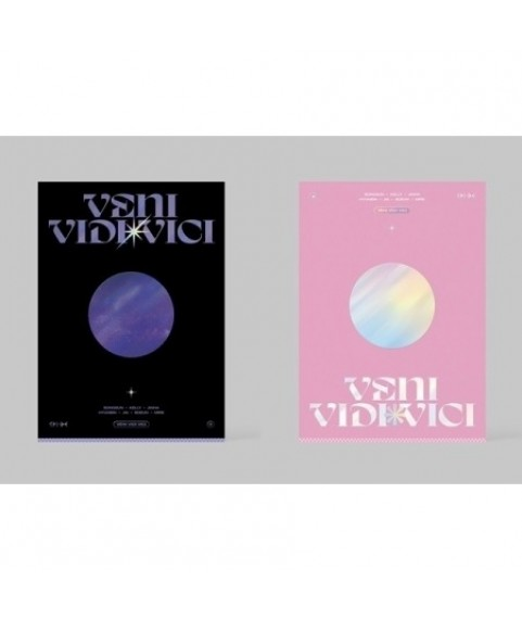 TRI.BE - 1st Mini Album [VENI VIDI VICI] (Black Ver.) (Pink Ver.)