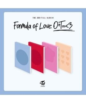 TWICE - Full Album Vol.3 [Formula of Love: O+T=<3]  (free Synnara Polaroid)
