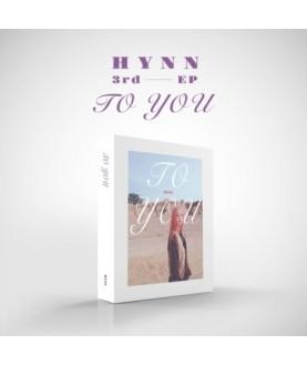 HYNN - EP Album [To you]